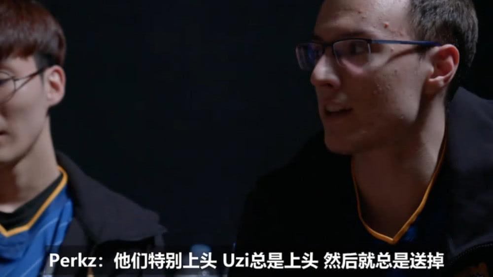 G2战队八强赛纪录片:Uzi容易上头然后送掉